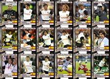 Valencia 2004 UEFA Cup Winners football trading cards