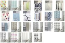 Modern Design PEVA Bathroom Shower Curtain 180cm x 180cm With Hooks & Hookless