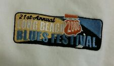 Vintage 2000 Long Beach CA Blues Music Festival Sweatshirt Size 2XL White