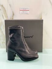 Lemare' Stivaletto Donna 1891 In Pelle Nera Made In Italy 37
