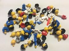 8 Ounces Lego Old Style Minifig parts Vintage Lego minifigures Lot E469M