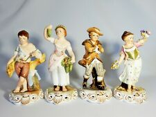 Royal Crown Derby Set Four Seasons Summer Autumn Winter Spring Figurine Figures
