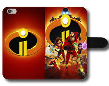 Incredibles 2 Disney Bob Mr. Incredible Magnetic Leather Phone Case Cover