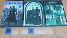 DVD - Matrix Complete Trilogy (Keanu Reeves) 3 DVD`s NEU / ##