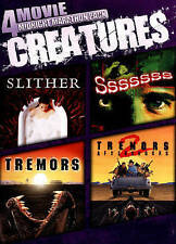 Slither, Sssssss, Tremors, Tremors Aftershocks - New 4 Film Set