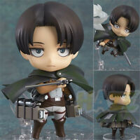 Anime Attack On Titan Nendoroid 390 Levi 10cm PVC Action Figure Statue Model Toy