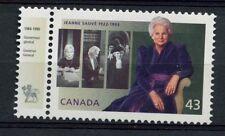 Canada 1994 SG#1582 Jeanne Sauve + Governer General Tab MNH#A77318