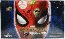 2019 UD Upper Deck Marvel Spider-Man Far From Home Hobby Box (Two Hits Per Box)