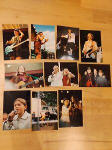 Kelly Family Sammlungsauflösung 10 Fotos vom Negativ Street Life (9x13) Set 4