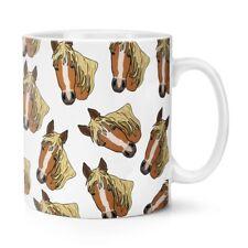 Patrón de caballo 10 OZ (approx. 283.49 g) Taza Taza-Divertido Animal Lindo Mascota Crazy Horse Dama Hombre