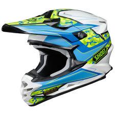 Shoei Vfx-W Motocross MX Enduro Casco Bicicleta Turmoil TC-2 Azul/Verde