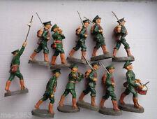 original  11 x Elastolin Soldaten Polen oder Irland   7  cm