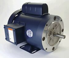 2HP 3450RPM 56HC 1PH TEFC C-FACE RIGID BASE 115/208-230V LEESON #113931