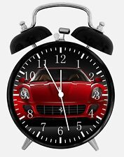 "Super Car Alarm Desk Clock 3.75"" Home or Office Decor W314 Nice For Gift"