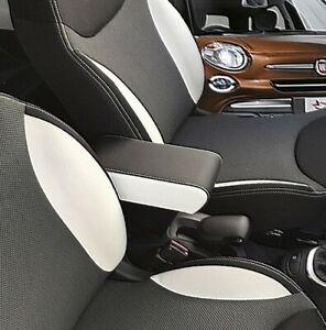 Fiat 500L 2012/2017 BRACCIOLO XXL REGOLABILE nero bianco ORIGINALE  WOOD COMPANY