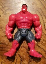 2012 Red Hulk Rage Marvel Avengers Assemble Mighty Battlers 6� Action Figure