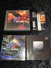 ⭐ GRAN TURISMO 1997 SONY PLAYSTATION 1 PS1 PSX JAPAN JAP NTSC-J 🎌⭐