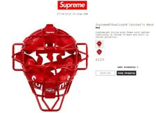 Supreme/Rawlings Catcher's Mask – SS18 – Lower than Retail (£110) – BRAND NEW