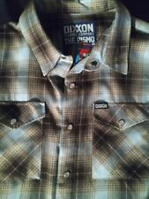 Dixxon Flannel The Pismo Mens Large Tall LT LIMITED EDITION SOLD OUT Shirt