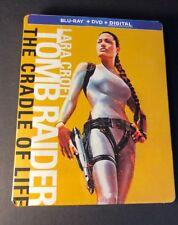 Lara Croft Tomb Raider La Cuna De La Vida [SteelBook Pack] (blu-ray Dvd) Nuevo