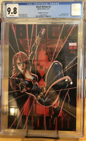 🔥 Black Widow #3 CGC 9.8 J Scott Campbell Variant (Ltd 4,000) Glow In Dark 🔥
