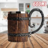 Bark Gothic Wine Goblet Beer Retro Mug Striking Tankard Drinking Cup  Gift