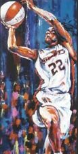 Sheryl Swoopes autographed limited edition print WNBA Houston Comets