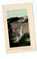 CANADA antique post card Takakkaw Falls Yoho Valley Canadian Rockies