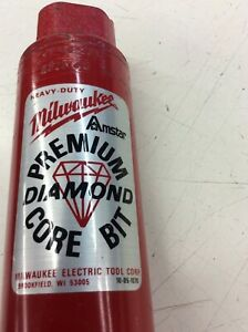 "Milwaukee 2-1/2"" Premium Diamond Core Bit 48-16-2513"