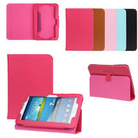 "7 inch Universal Leather Stand Case Cover For 7"" Android Tablet PC Back Skin Hot"