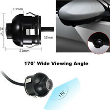 360° Rotatable 170° View Angle Auto Car Front/Side Mirror Mini Camera Shockproof