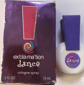 EXCLAMATION DANCE 1 FL OZ COLOGNE SPRAY WOMEN UNSEALED BOX (A28)