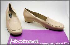 Block Leather Narrow (AA, N) Heels for Women