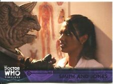 Doctor Who Timeless Purple Parallel [##/50] Base Card #55 Smith and Jones
