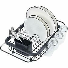 Kingrack Dish Sink Drainer, Dish Drying Rack Over Sink, Extendable Dish Drainer