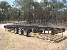 8mt Tiny House Trailer Tri-Axle 4500kg cap ,custom built , complete no extras!