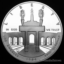 1984 S  Olympic Coliseum Liberty Mint Silver Dollar from Proof Set ~ # 2019 1418