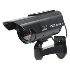 CAMERA CCTV FACTICE AVEC PANNEAU SOLAIRE ET 30 LED IR SECURITE