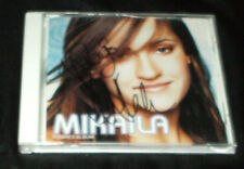 Mikaila s/t 2001 CD  TEENY TEEN FEMME POP ADVANCE PROMO CD AUTOGRAPHED SINGED