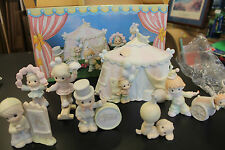 Sammy's Circus by Precious Moments - tent and 6 statues - set - in box 1993