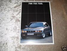 Prospekt BMW 730i, 735i, 735iL E32 - Ausgabe 1987