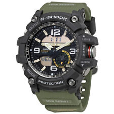 Casio GG1000-1A3 56.2mm G-Shock Analog-Digital Mud Master Army Watch, Green