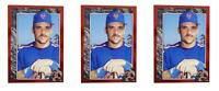 (3) 1992 Legends #18 Howard Johnson Baseball Card Lot New York Mets
