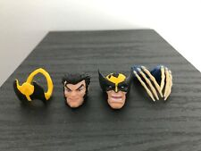 Marvel Legends Wolverine  X-Men Love Triangle Heads and claws New