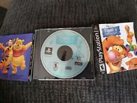 PLAYSTATION GAME  TIGGER'S HONEY HUNT