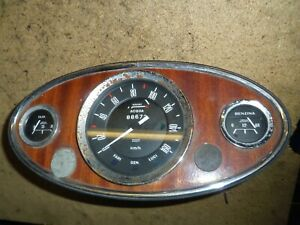 Innocenti Mini Cooper 1965-75 Tacho Kombiinstrument Veglia 160 km/h