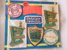 "Vintage Vending Display ""Sew-em-on"" Holiday Inn Smith Patches Joke"