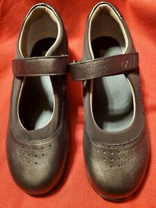Drew Mary Jane Metalic Brown Leather  Women size 10M Comfort Walking Shoes NWOB