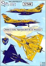 Syhart Decals 1/144 DASSAULT RAFALE C Tigermeet 2013 EC 1/7 Provence