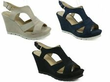 Buckle Suede Casual Shoes for Women